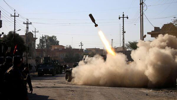 Iraccy żołnierze wyparli dżihadystów z Państwa Islamskiego z kampusu uniwersyteckiego w Mosulu - Sputnik Polska