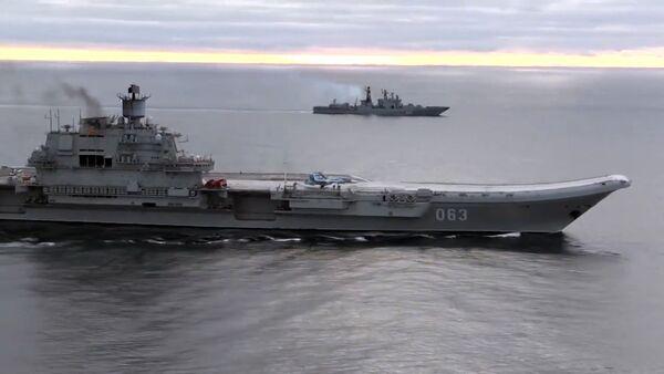 Admirał Kuzniecow - Sputnik Polska