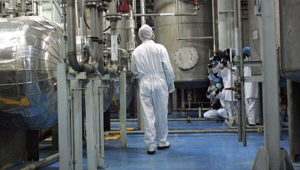 Irańskie instalacje do wzbogacania uranu w Isfahanie - Sputnik Polska