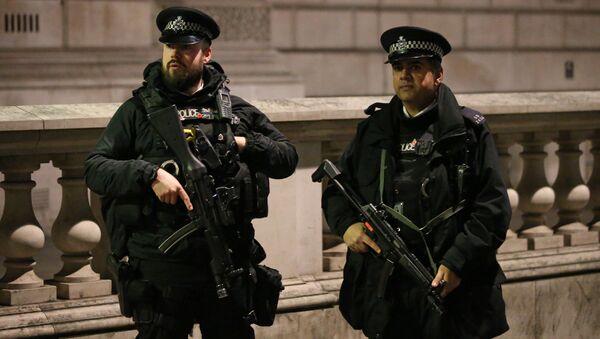 Brytyjska policja w Londynie - Sputnik Polska