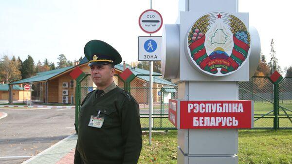 Polsko-białoruskie przejście graniczne - Sputnik Polska