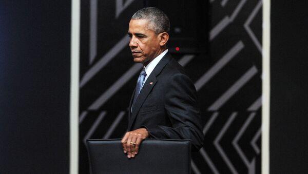 Prezydent USA Barack Obama. Zdjęcie archiwalne - Sputnik Polska
