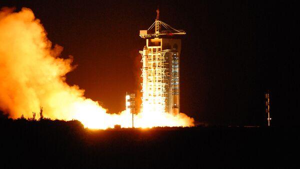Start satelity Micius z kosmodromu Jiuquan w Chinach - Sputnik Polska