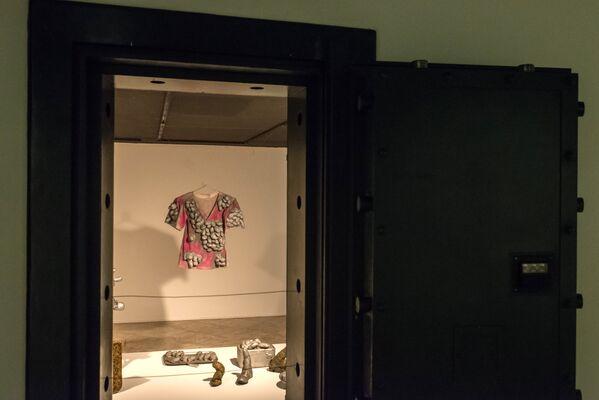 Eksponat na wystawie  Infinite Obsession japońskiej malarki  Yayoi Kusama w Brazylii - Sputnik Polska