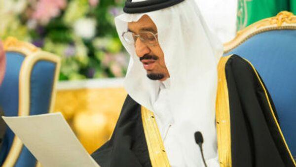 Król Arabii Saudyjskiej Salman ibn Abd al-Aziz Al Su'ud - Sputnik Polska
