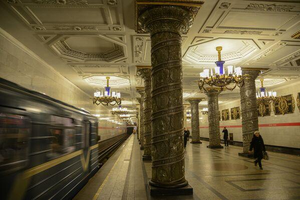 Stacja Awtowo, Petersburg, Rosja - Sputnik Polska