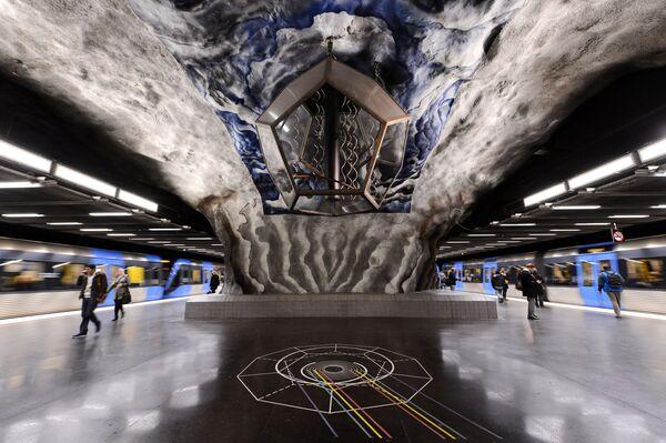 Stacja Tekniska Hogskolan, Sztokholm, Szwecja - Sputnik Polska