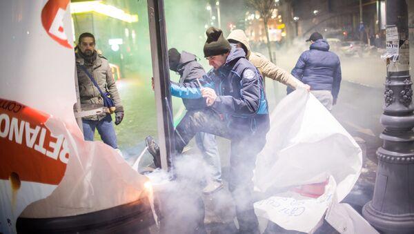 Protesty w Bukareszcie - Sputnik Polska