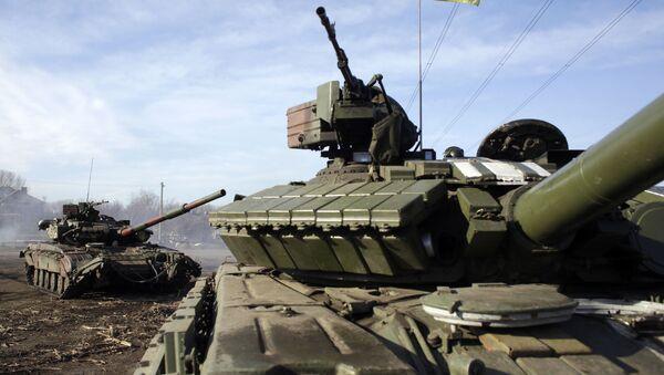 Ukraiński czołg - Sputnik Polska