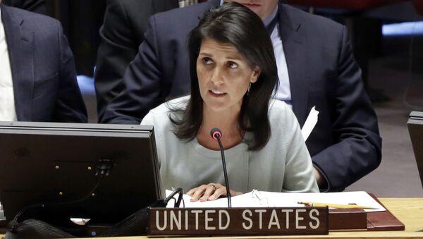 Ambasadorka USA przy ONZ Nikki Haley - Sputnik Polska