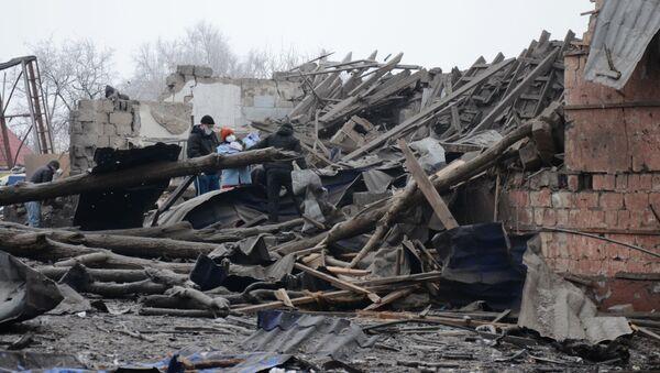 Konflikt na wschodzie Ukrainy - Sputnik Polska