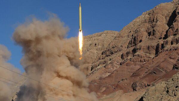 Próba rakietowa w północnym Iranie w marcu 2016 roku - Sputnik Polska