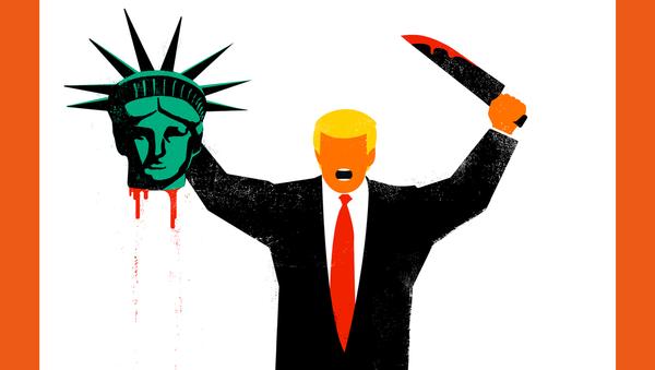Okładka czasopisma Der Spiegel z Donaldem Trumpem - Sputnik Polska
