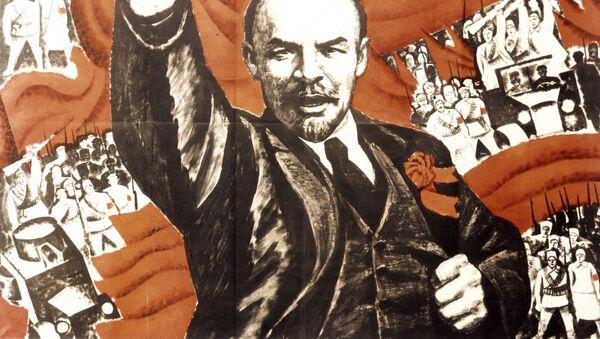 Reprodukcja plakatu Niech żyje rewolucja socjalistyczna! - Sputnik Polska