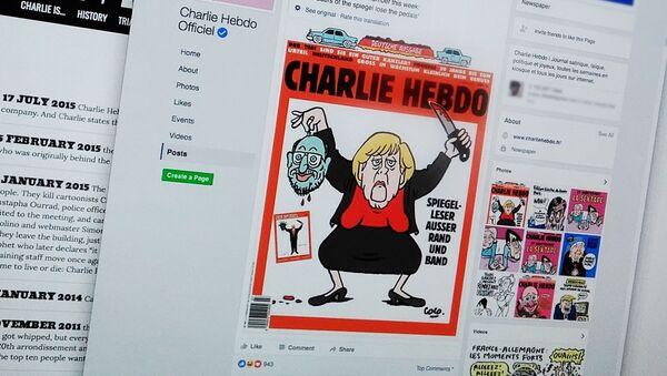 Oficjalne konto Charlie Hebdo w serwisie społecznościowym - Sputnik Polska