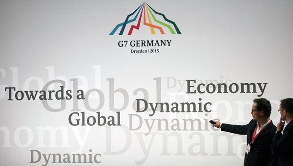 Szczyt G7 w Elmau - Sputnik Polska