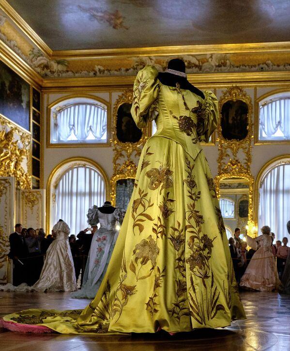 Wystawa kostiumów w Carskim Siole pod Petersburgiem - Sputnik Polska