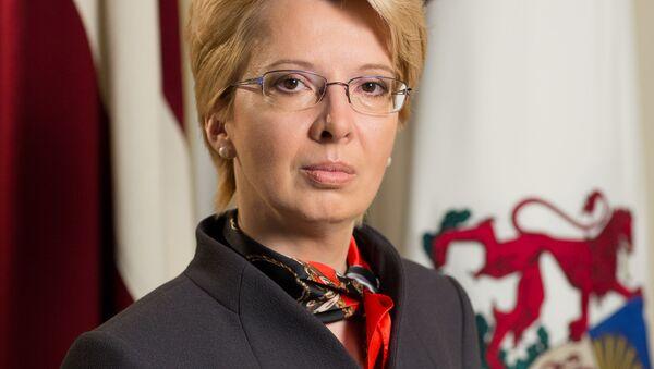 Przewodnicząca łotewskiego Sejmu Ināra Mūrniece - Sputnik Polska