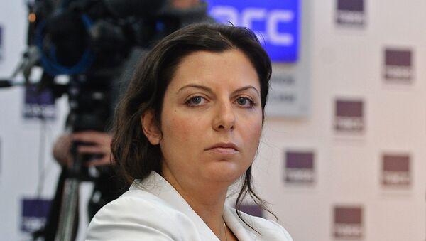 Redaktorka naczelna telewizji RT i agencji Sputnik Margarita Simonian - Sputnik Polska