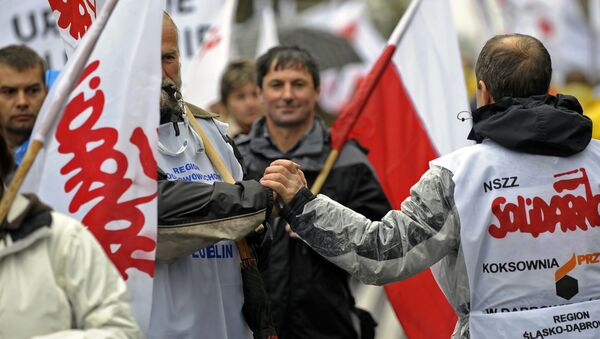 Związek zawodowy Solidarność - Sputnik Polska