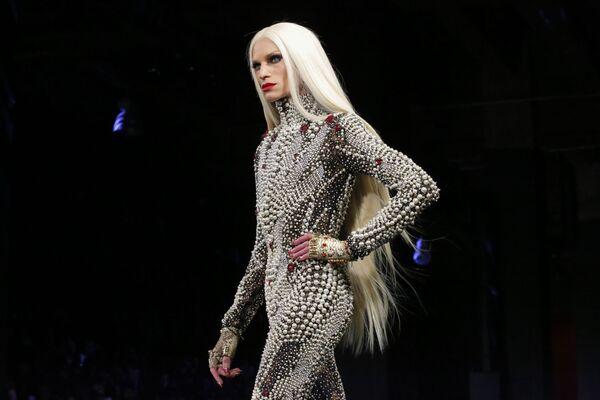 Projektant Phillipe Blond podczas Tygodnia Mody w Nowym Jorku - Sputnik Polska