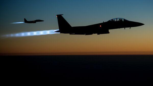Amerykańskie myśliwce F-15 - Sputnik Polska