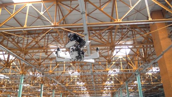Rosyjski hoverbike podczas testów w Moskwie - Sputnik Polska