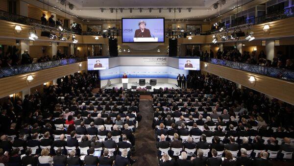 Konferencja w Monachium. Zdjęcie archiwalne - Sputnik Polska