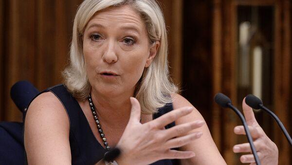 Francuska polityk Marine Le Pen - Sputnik Polska