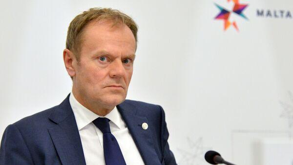 Przewodniczący Rady Europejskiej Donald Tusk na nieformalnym szczycie przywódców UE na Malcie - Sputnik Polska