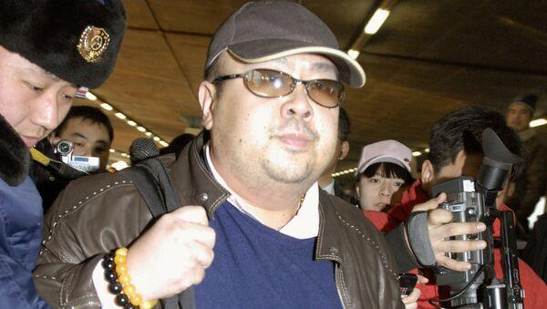 Kim Jong Nam na lotnisku w Pekinie, rok 2007 - Sputnik Polska