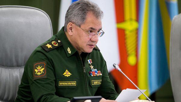 Rosyjski minister obrony Siergiej Szojgu - Sputnik Polska