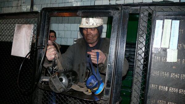 Górnicy w kopalni Makiejewugol - Sputnik Polska