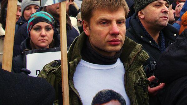 Deputowany do Rady Najwyższej Aleksiej Gonczarenko - Sputnik Polska