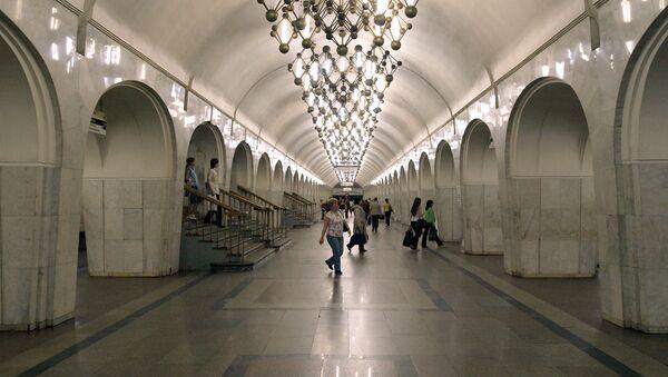 Stacja metro Mendelejewskaja w Moskwie - Sputnik Polska