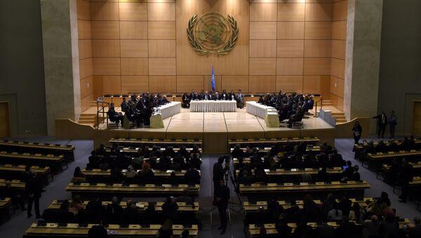 Rozmowy o Syrii w Genewie - Sputnik Polska