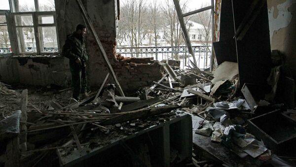 Do eskalacji konfliktu w Donbasie doszło pod koniec stycznia - Sputnik Polska