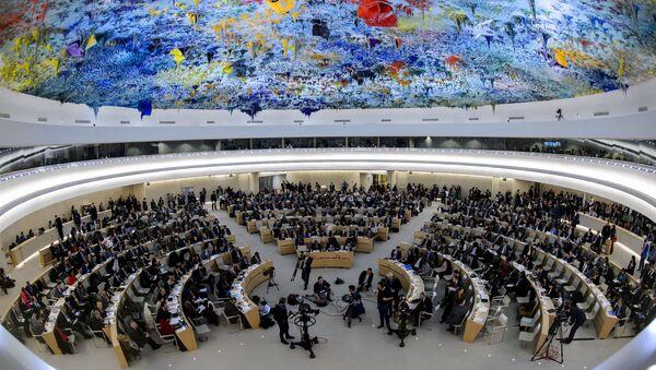 Sesja Rady Praw Człowieka ONZ w Genewie - Sputnik Polska
