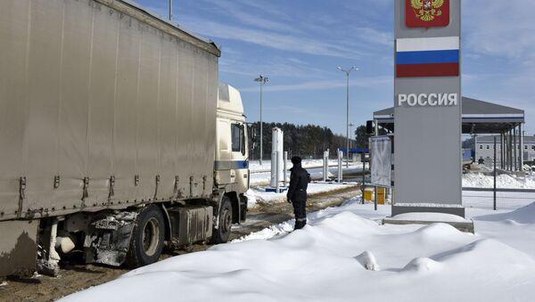 Strefa przygraniczna między Rosją a Białorusią - Sputnik Polska