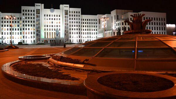 Siedziba parlamentu Republiki Białorusi w Mińsku - Sputnik Polska