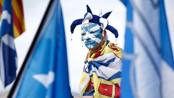 Marsz niepodległości w Szkocji - Sputnik Polska