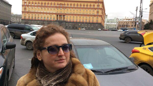 Agnieszka Wołk-Łaniewska w Moskwie - Sputnik Polska