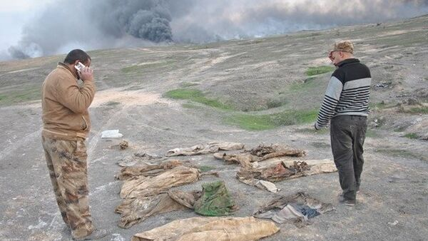 Na południu Mosulu odnaleziono zbiorową mogiłę - Sputnik Polska