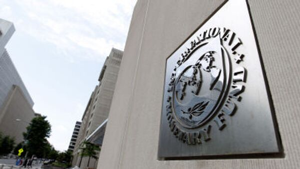 Siedziba Międzynarodowego Funduszu Walutowego w Waszyngtonie - Sputnik Polska