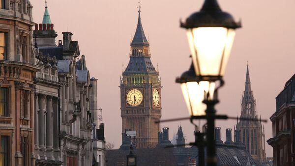 Widok na Big Ben z Placu Trafalgarskiego, Londyn - Sputnik Polska