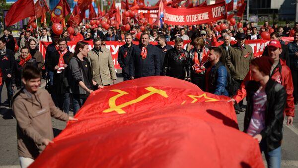 Demonstracja pierwszomajowa w Rosji - Sputnik Polska