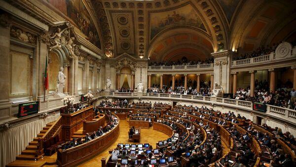 Parlament Portugalii - Sputnik Polska