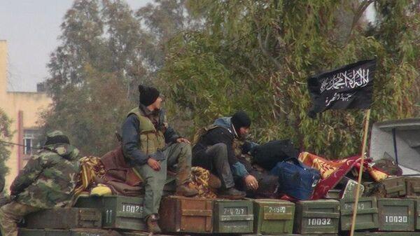 Dżabhat an-Nusra w Syrii - Sputnik Polska