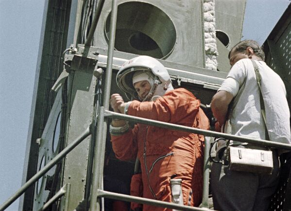 Do lotu na statku Wostok-6 Tierieszkowa przygotowywała się od stycznia do maja 1963 roku. - Sputnik Polska