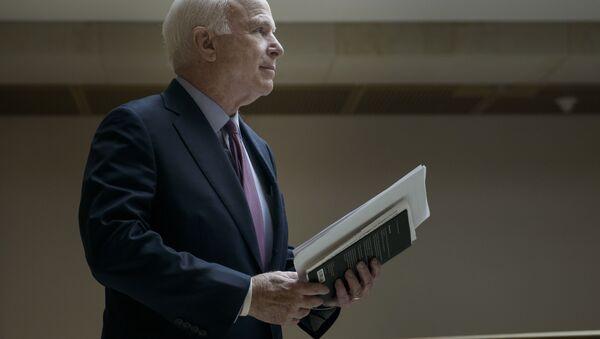 Przewodniczący Senackiej Komisji Kongresu USA ds. Sił Zbrojnych John McCain - Sputnik Polska